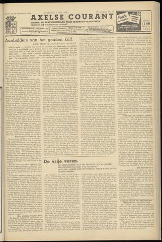 Axelsche Courant 1958-06-07