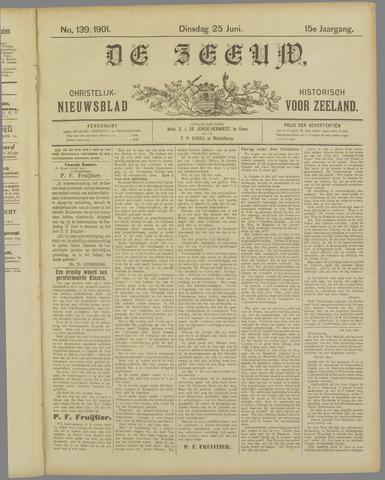 De Zeeuw. Christelijk-historisch nieuwsblad voor Zeeland 1901-06-25