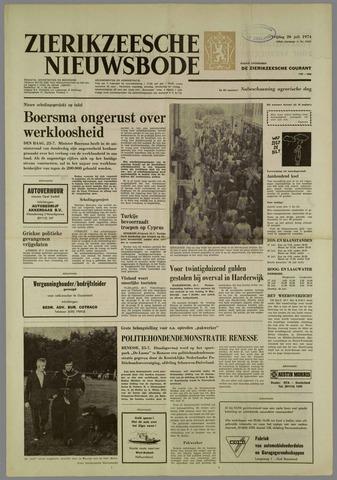 Zierikzeesche Nieuwsbode 1974-07-26
