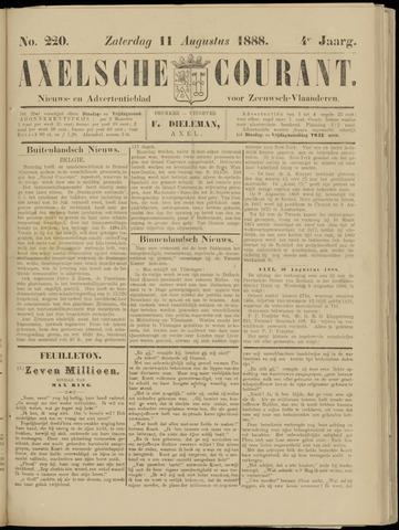 Axelsche Courant 1888-08-11