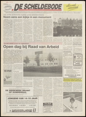 Scheldebode 1991-09-11