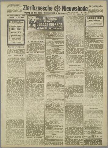 Zierikzeesche Nieuwsbode 1922-05-26