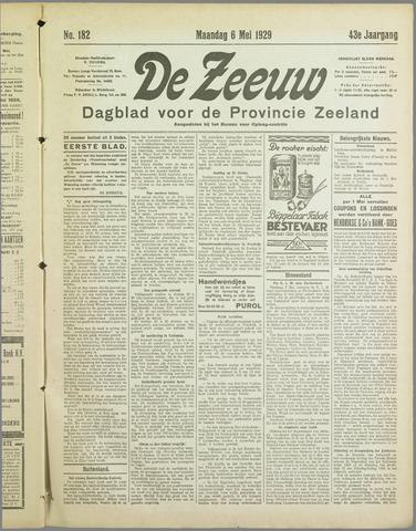 De Zeeuw. Christelijk-historisch nieuwsblad voor Zeeland 1929-05-06