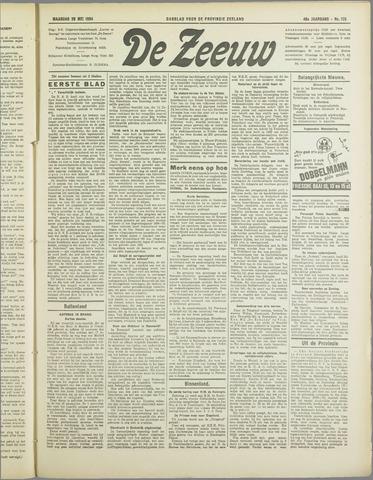 De Zeeuw. Christelijk-historisch nieuwsblad voor Zeeland 1934-05-28