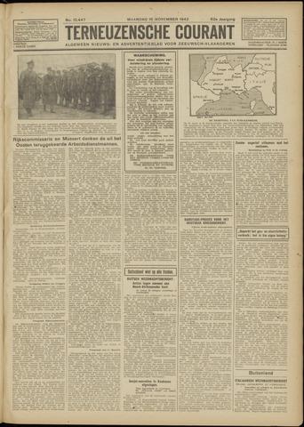 Ter Neuzensche Courant. Algemeen Nieuws- en Advertentieblad voor Zeeuwsch-Vlaanderen / Neuzensche Courant ... (idem) / (Algemeen) nieuws en advertentieblad voor Zeeuwsch-Vlaanderen 1942-11-16