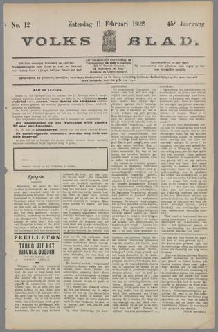 Volksblad 1922-02-11