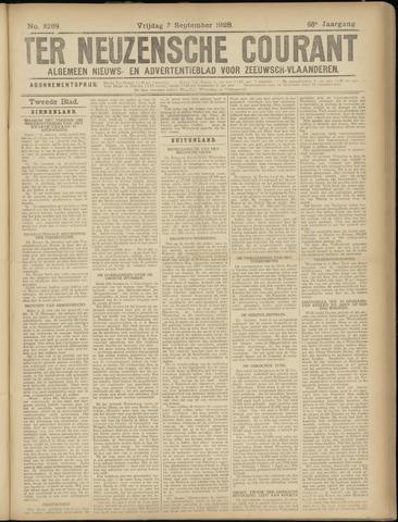 Ter Neuzensche Courant. Algemeen Nieuws- en Advertentieblad voor Zeeuwsch-Vlaanderen / Neuzensche Courant ... (idem) / (Algemeen) nieuws en advertentieblad voor Zeeuwsch-Vlaanderen 1928-09-07