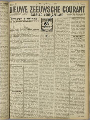 Nieuwe Zeeuwsche Courant 1920-12-13
