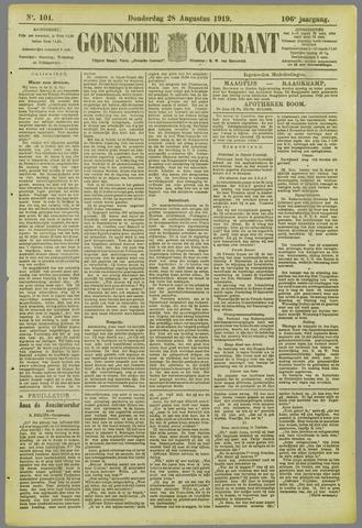 Goessche Courant 1919-08-28