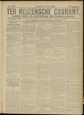 Ter Neuzensche Courant. Algemeen Nieuws- en Advertentieblad voor Zeeuwsch-Vlaanderen / Neuzensche Courant ... (idem) / (Algemeen) nieuws en advertentieblad voor Zeeuwsch-Vlaanderen 1926-03-15