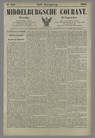 Middelburgsche Courant 1882-09-25