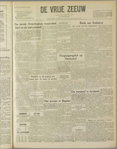 de Vrije Zeeuw 1958-08-18