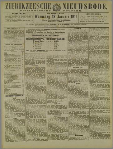 Zierikzeesche Nieuwsbode 1911-01-18