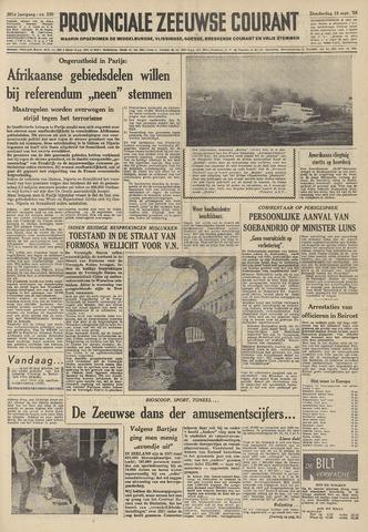 Provinciale Zeeuwse Courant 1958-09-18