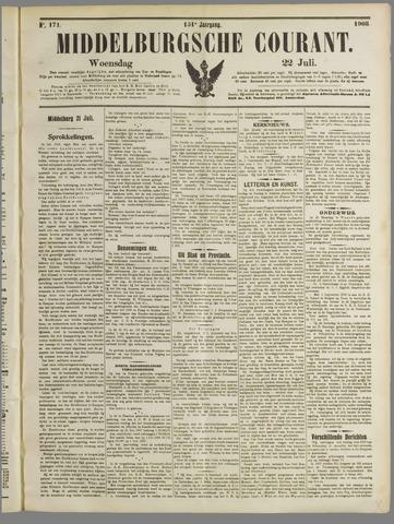 Middelburgsche Courant 1908-07-22