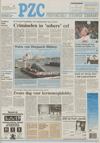 Provinciale Zeeuwse Courant 1995-03-30