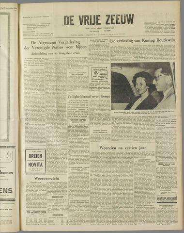 de Vrije Zeeuw 1960-09-19