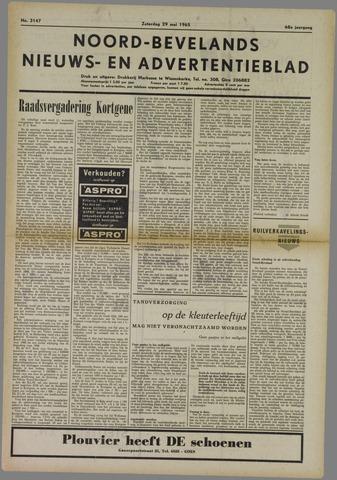 Noord-Bevelands Nieuws- en advertentieblad 1965-05-29
