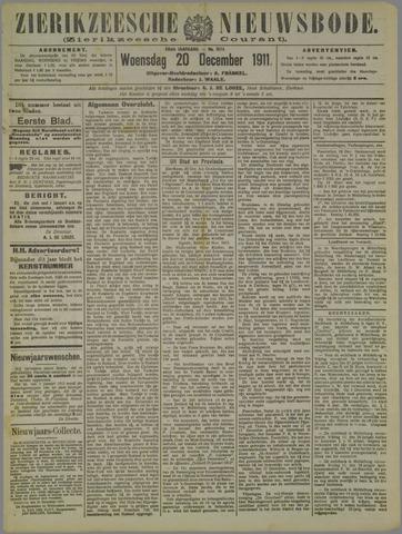 Zierikzeesche Nieuwsbode 1911-12-20