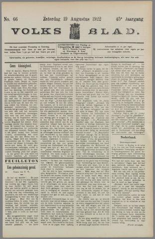 Volksblad 1922-08-19