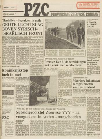 Provinciale Zeeuwse Courant 1974-04-20