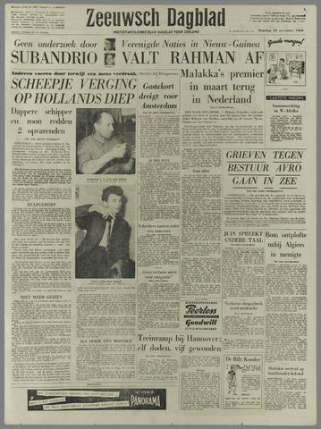 Zeeuwsch Dagblad 1960-11-28