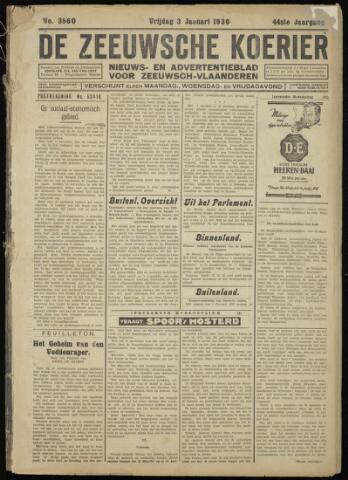 Zeeuwsche Koerier 1930