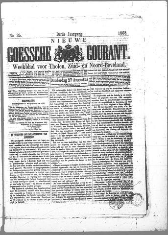 Nieuwe Goessche Courant 1868-08-27