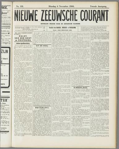 Nieuwe Zeeuwsche Courant 1906-11-06