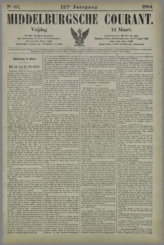 Middelburgsche Courant 1884-03-14