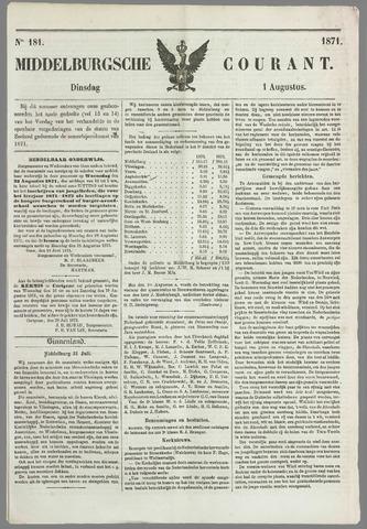 Middelburgsche Courant 1871-08-01