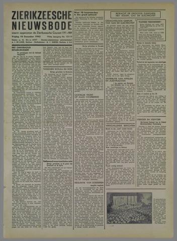 Zierikzeesche Nieuwsbode 1942-12-18