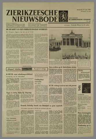 Zierikzeesche Nieuwsbode 1963-06-27