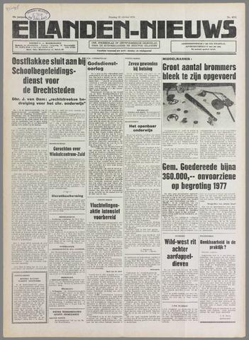 Eilanden-nieuws. Christelijk streekblad op gereformeerde grondslag 1976-10-19