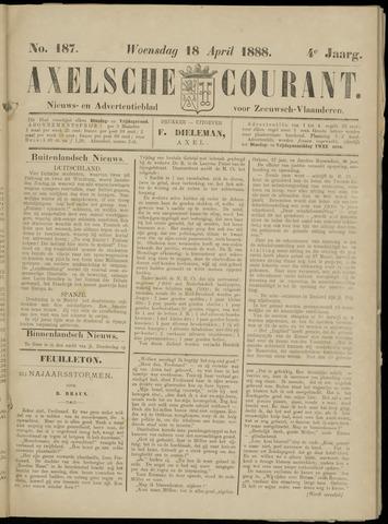 Axelsche Courant 1888-04-18