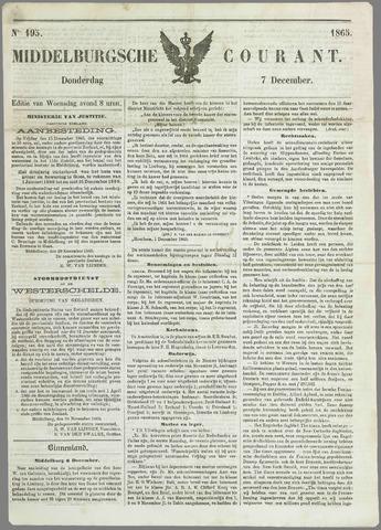 Middelburgsche Courant 1865-12-07