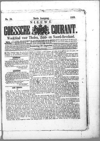 Nieuwe Goessche Courant 1868-08-20