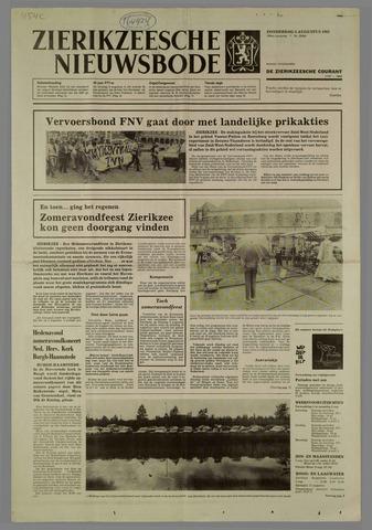 Zierikzeesche Nieuwsbode 1983-08-04