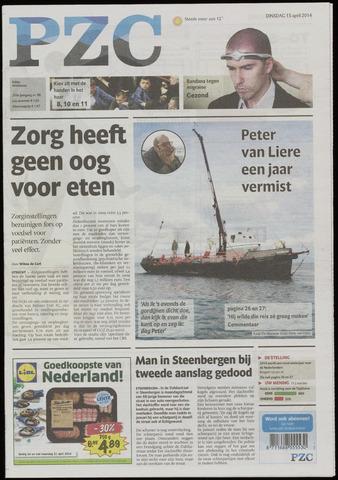 Provinciale Zeeuwse Courant 2014-04-15