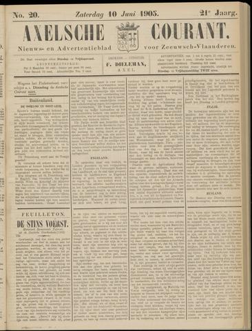 Axelsche Courant 1905-06-10