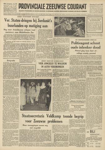 Provinciale Zeeuwse Courant 1957-04-27