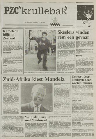 Provinciale Zeeuwse Courant katern Krullenbak (1981-1999) 1994-05-17