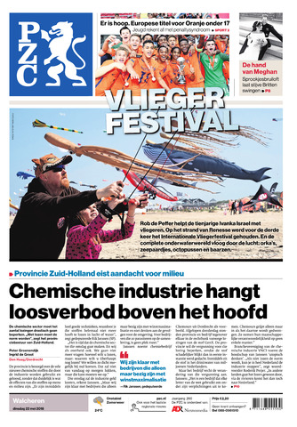 Provinciale Zeeuwse Courant 2018-05-22