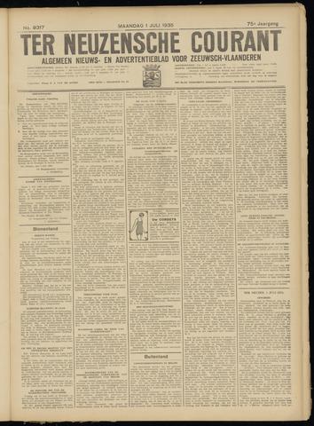 Ter Neuzensche Courant. Algemeen Nieuws- en Advertentieblad voor Zeeuwsch-Vlaanderen / Neuzensche Courant ... (idem) / (Algemeen) nieuws en advertentieblad voor Zeeuwsch-Vlaanderen 1935-07-01