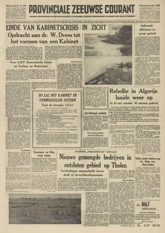Provinciale Zeeuwse Courant 1956-10-10