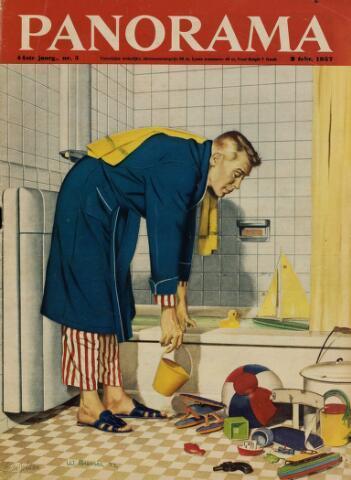Watersnood documentatie 1953 - tijdschriften 1957