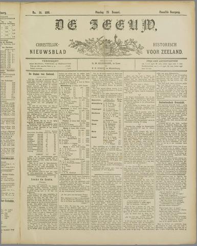 De Zeeuw. Christelijk-historisch nieuwsblad voor Zeeland 1898-01-25