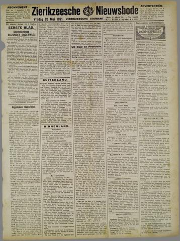 Zierikzeesche Nieuwsbode 1921-05-20
