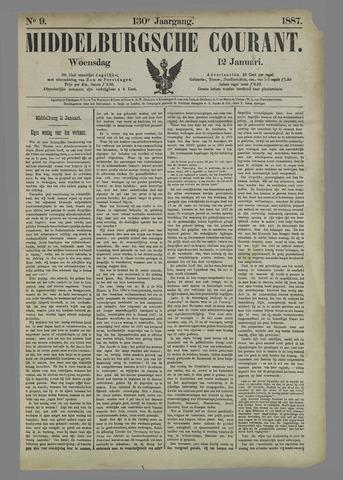 Middelburgsche Courant 1887-01-12
