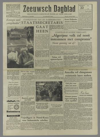 Zeeuwsch Dagblad 1958-05-22